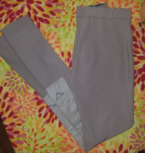 AWESOME GUTOS TAN RIDING BREECHES GIRLS SZ 14