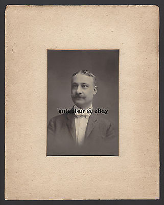 Cabinet Photo ID'd Frank Moore Carter likely by Donaldson, Cincinnati Ohio / OH