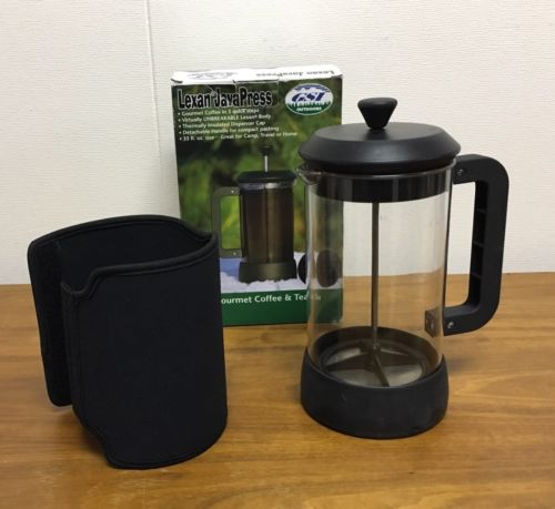 GSI 33 oz Lexan Java French Press gourmet coffee camping & travel