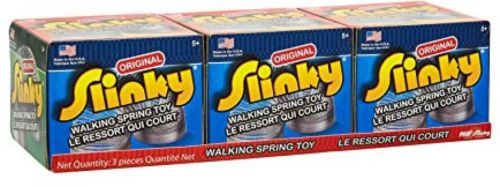 The Original Slinky Brand Metal Slinky 3 Pack