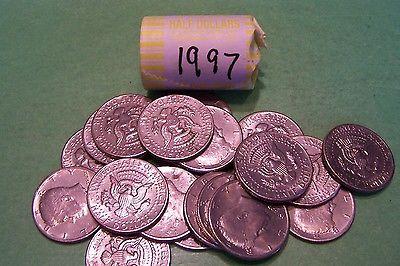 1997 Kennedy Half Dollar Roll (20 coins)