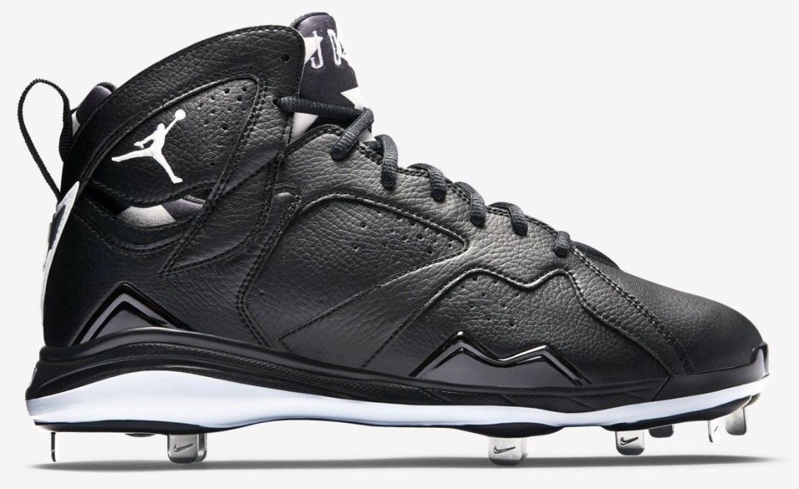 Nike Air Jordan Retro 7 Metal Men's Baseball Cleats- Style 684943-010 11 11.5 13