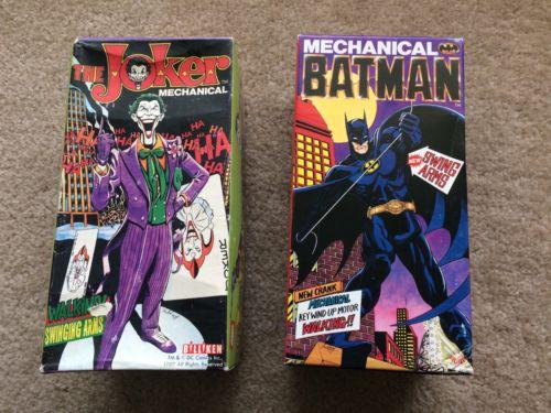 Billiken DC Comics BATMAN & JOKER Mechanical Toys