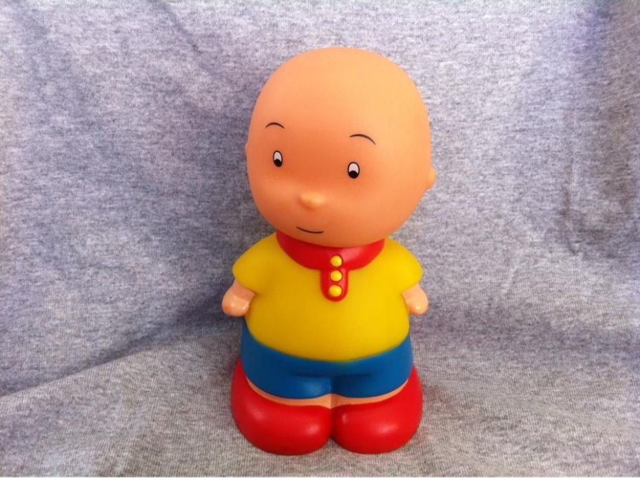 Caillou Rubber Squeeze Toy 6''