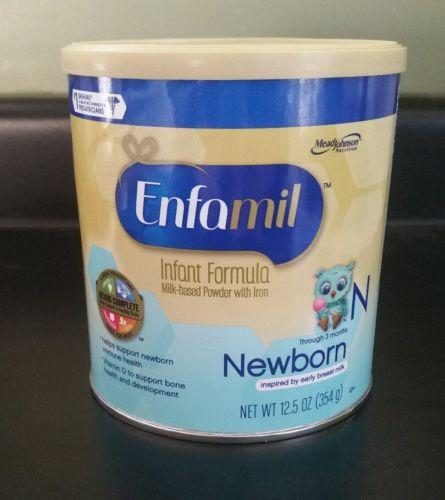NEW Enfamil Infant Newborn Baby Formula Powder 12.5oz Can FAST SHIP