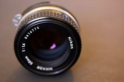 Nikon NIKKOR 50mm f/1.4 Ai-s Lens