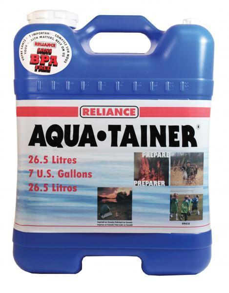 7 Gallon Fresh Water Container For Outdoors Activities & Emergency