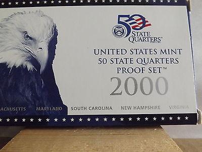 2000 50 States Quarters Proof Set