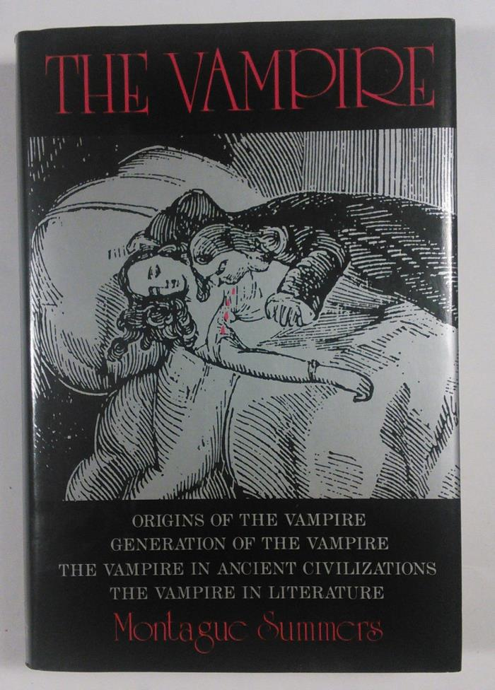 The Vampire, Origins of the Vampire, by Montague Summers