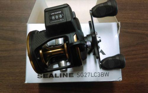 DAIWA Sealine SG-3B Line Counter Reel 27 /SG27LC3BW  **NIB**
