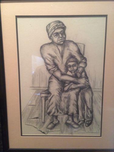 Benny Menyweather African American Artist Original Art