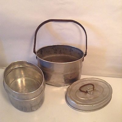 VINTAGE METAL MINERS LUNCH BOX