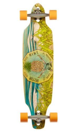 Sector 9 Mini Lookout Complete Skateboard, Longboard Brand New!