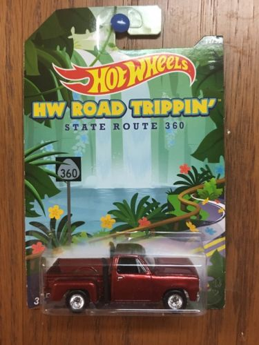 Hot Wheels 1978 Dodge Red Express Truck Custom RR