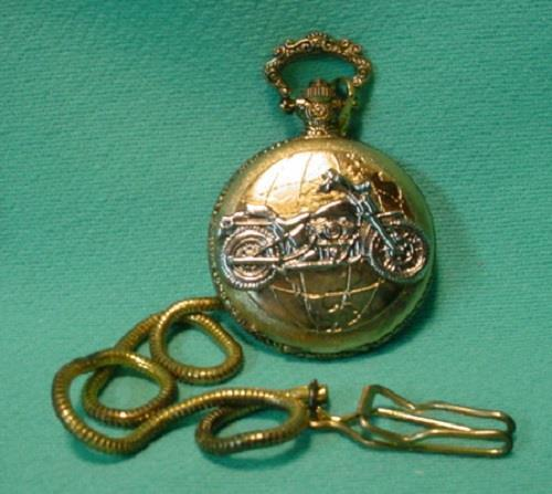 New Motorcycle Quartz Pocket Watch
