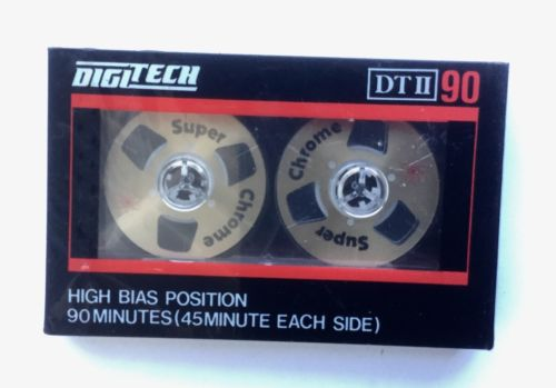 DigiTech DT II 60 Super Chrome Cassette Tape Original Sealed Vintage Brand New
