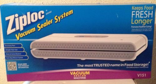 Ziploc Vacuum Sealer  NEW