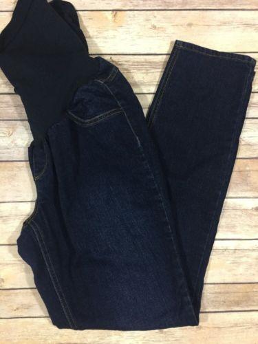 Jessica Simpson Maternity Skinny Jeans Size XL Stretch Dark Wash Slim Sz 925