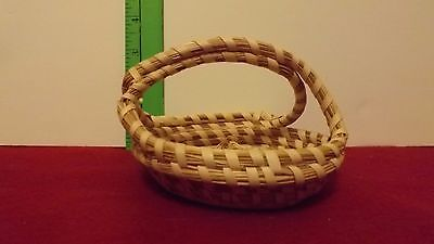 indian style Handicraft weave small basket/tray/ Arizona