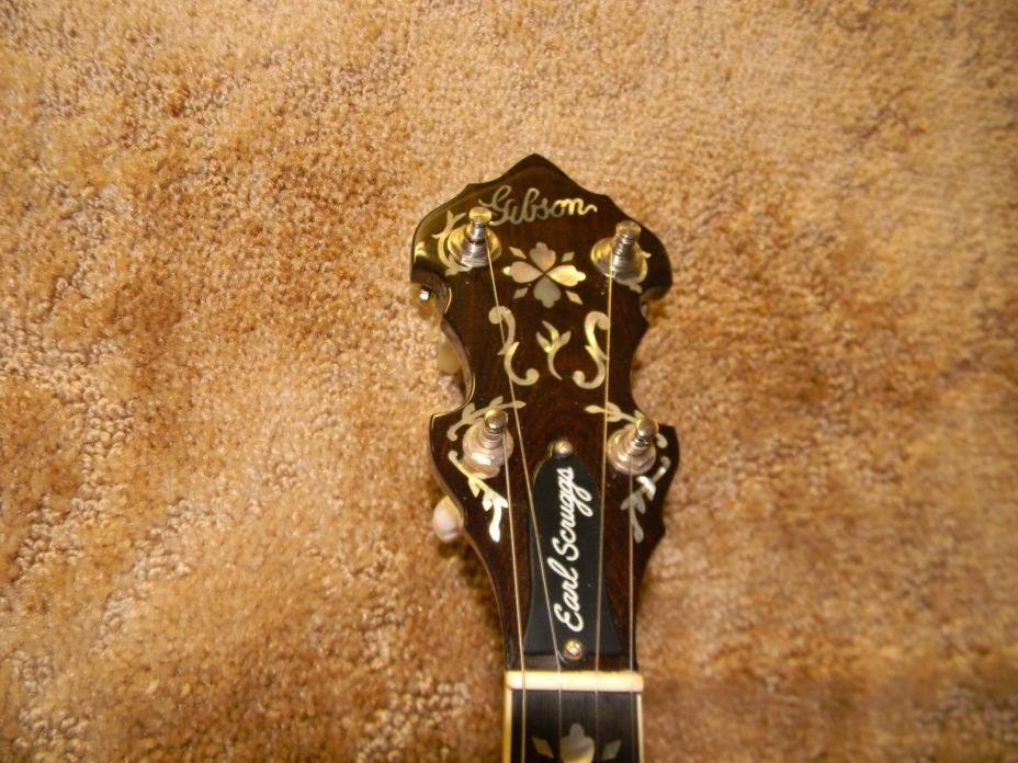 1990 Gibson Earl Scruggs Mastertone Banjo with