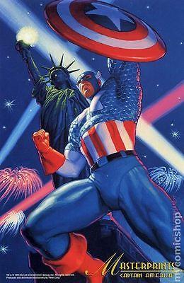 Marvel Masterprints Captain America (1994) #1 VF