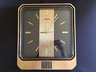 retro/vintage mexonic quartz wall clock!