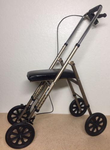 Drive Medical 780 Mobility Knee Walker, Knee Scooter Crutch Alternative w/Brake