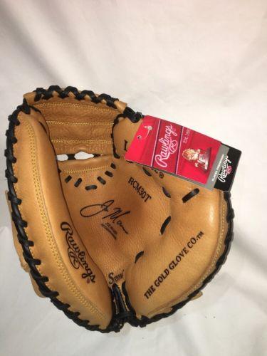 NEW! Rawlings Baseball Joe Mauer Catchers Mitt RCM30T  RHT. Right Hand Throw