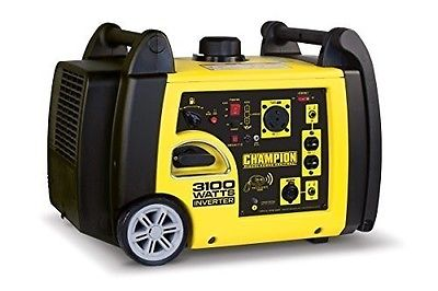 Generators for Home Use 3100 W Inverter Wireless Remote Start RV'S Job Site