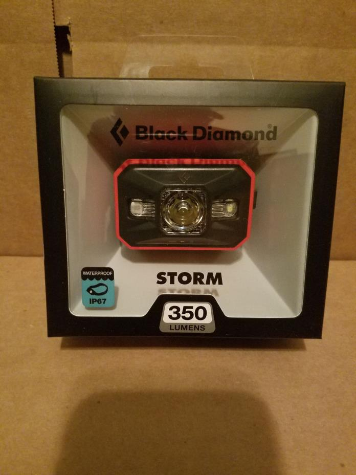 !!New 2017 STORM Headlamp 350 Lumens Black Diamond