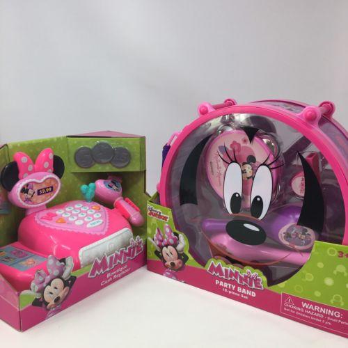 Disney Minnie Mouse Lot Bowtique Cash Register Part Band Instruments Toys