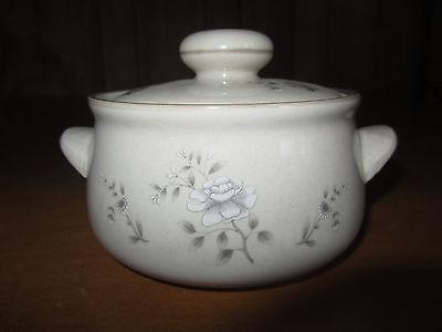 Vintage Southhampton Stoneware lidded pot with floral design