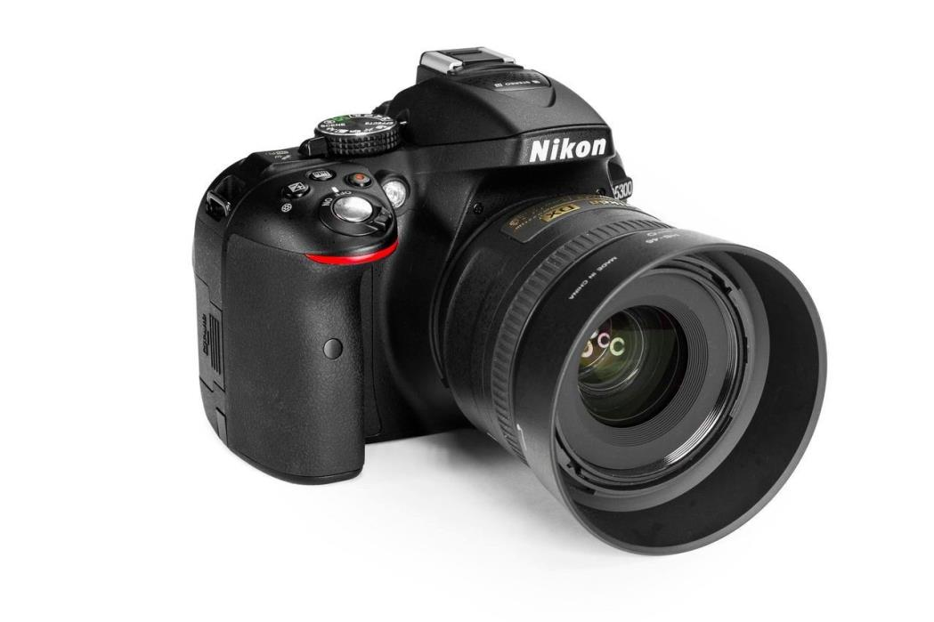 Nikon D5300 Digital SLR Camera Kit+35mm f/1.8G Lens+16GB Mem Card