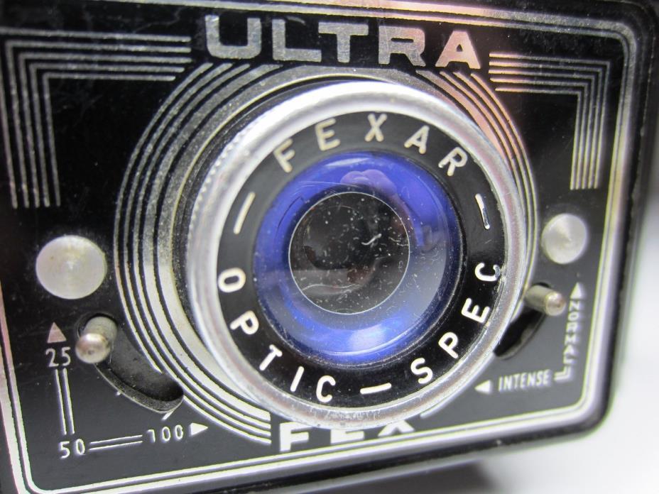 ULTRA FEX BAKELITE 120 FILM CAMERA