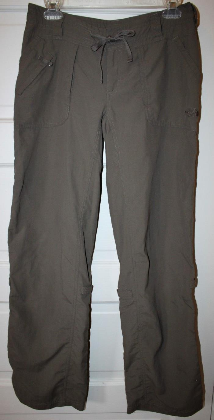 The North Face Womens Roll Up Nylon Hiking Pants Size 4