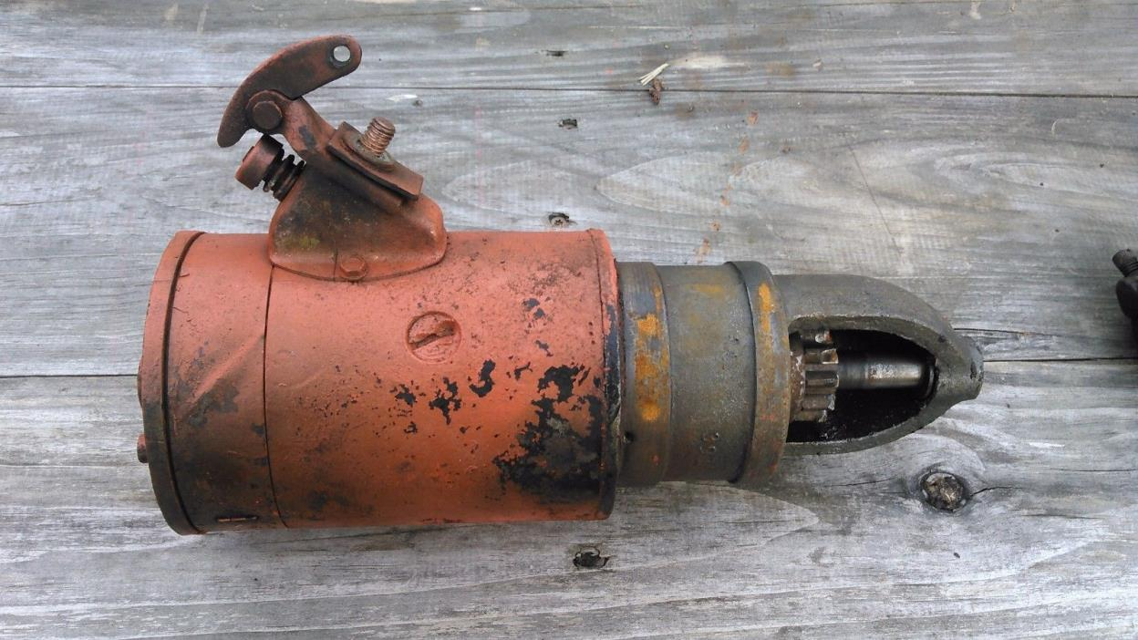 Allis       Chalmers       Wd       Starter     For Sale Classifieds