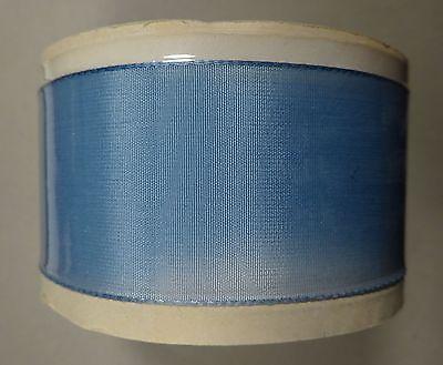 Rayon Bolt Burlington Mills Vintage Rayon Taffeta Blue Ribbon