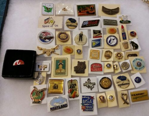 LOT OF 50 HAT / TAC PINS CLEARANCE