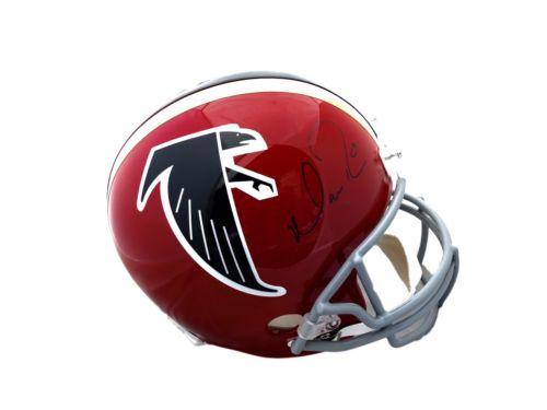 Matt Ryan Atlanta Falcons Signed Full Size Throwback Helmet Beckett BAS