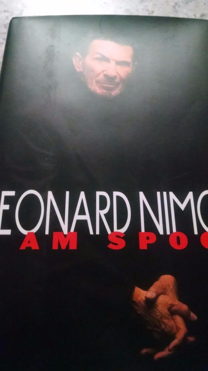 SIGNED Leonard Nimoy I Am Spock Star Trek TV Series Memoir 1st Print