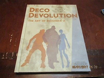 DECO DEVOLUTION THE ART OF BIOSHOCK 2 HARDCOVER ART BOOK FREE SHIPPING