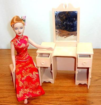 UFDC Doll Vanity Furniture Set fits 8