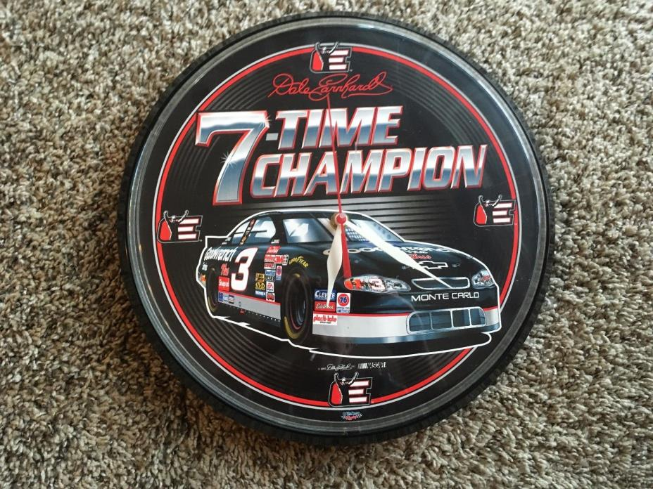 DALE EARNHARDT #3 Goodwrench 7-Time Champion 12