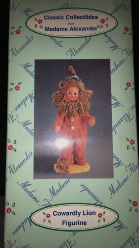 Wizard Of Oz Classic Collectibles from Madame Alexander Cowardly Lion