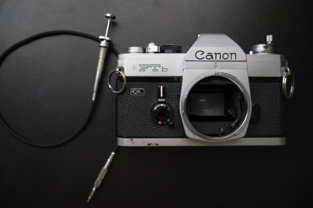 Canon Ftb QL 35mm SLR Film Camera Body Only