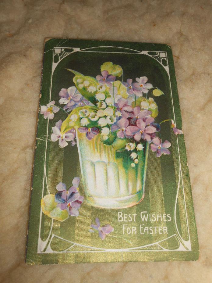 Antique 1911 Easter Postcard