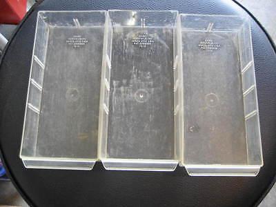 3 Original Akro Mils cabinet drawers 20-501