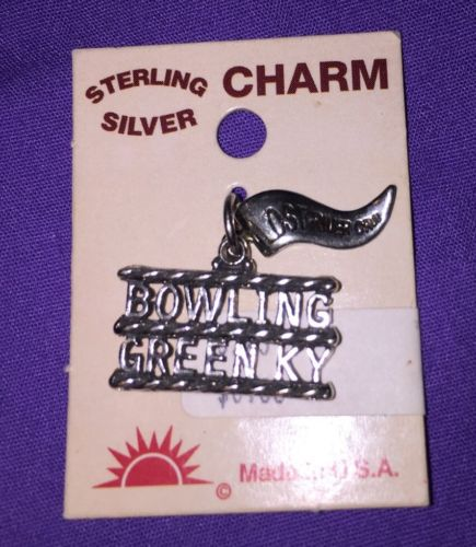 Sterling Silver Charm Bowling Green KY Vintage