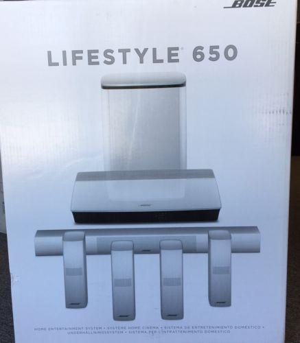 Bose Lifestyle 650 Home Entertainment White