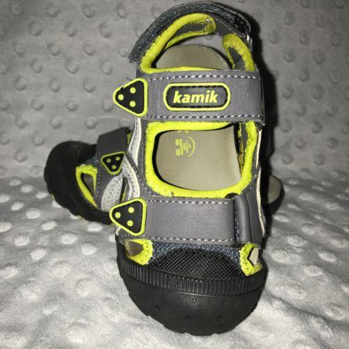 KAMIK Toddler Boys Sea Turtle Sandals, SIZE: 8